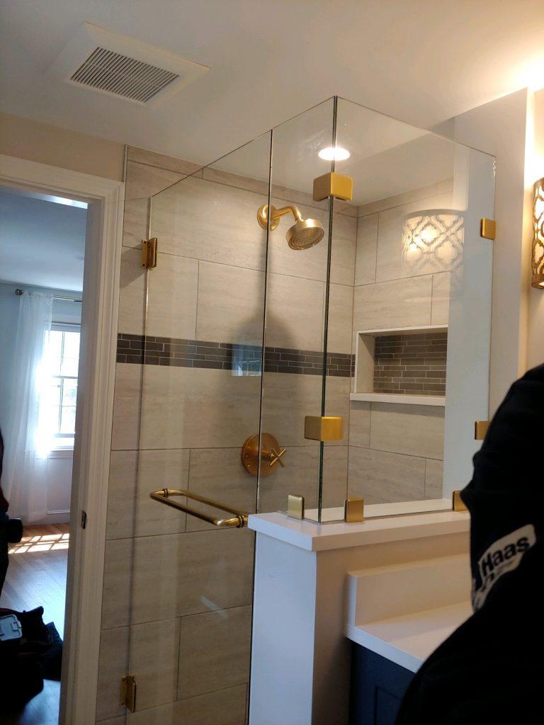 shower design in Boxford