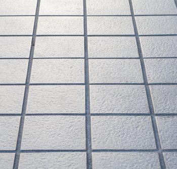 tile in a bathroom